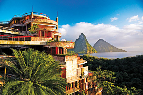 Jade Mountain -The Caribbean's Crest of Opulence