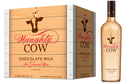 Naughty Cow Chocolate Milk Liqueur