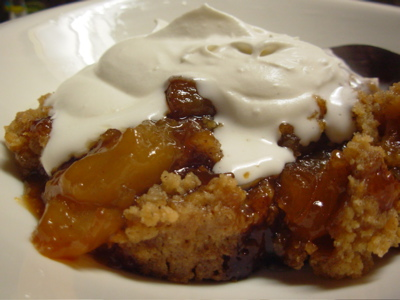 An Outstanding Apple Crisp
