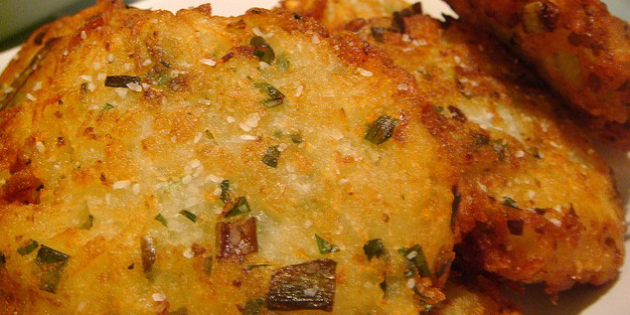 Luscious Latkes Made With Love