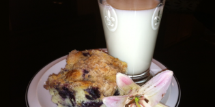 Nana Fay's Secret Blueberry Buckle Recipe