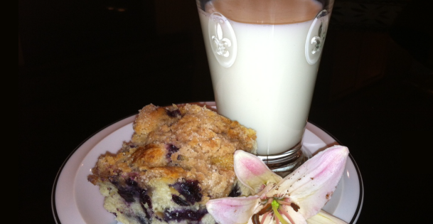Nana Fay's Secret Blueberry Buckle Recipe