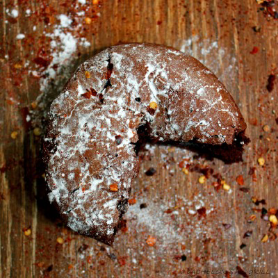 dark chocolate cayenne cake