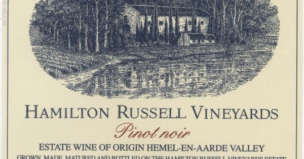 South Africa's 2010 Hamilton Russell Pinot Noir