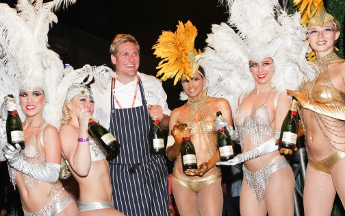 Moët Hennessy's The Q After Dark Featuring Special Guest Chef Curtis Stone