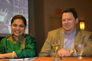 Doug Singer and Maneet Chauhan