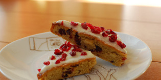 Cranberry Bliss Bars, My Holiday Guilty Pleasure