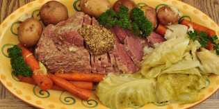 A Perfect Corn Beef and Cabbage for St. Patrick's Day