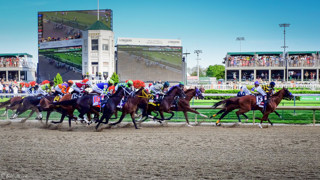 kentucky derby by Bill Brine