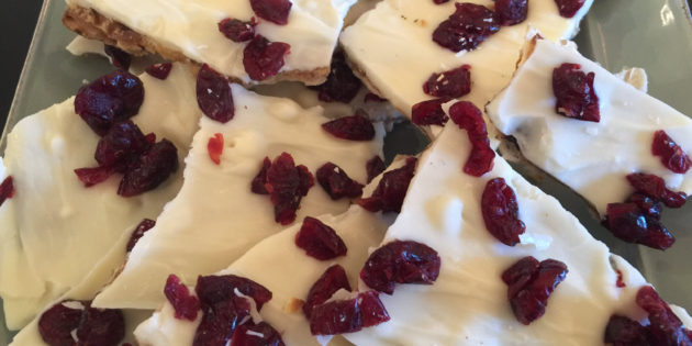 Cranberry Bliss Crunch, a Passover Dessert Treat